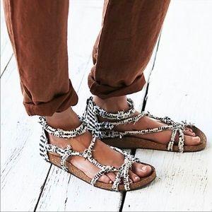 BN Free People Redlands Rope Sandal size 9.5
